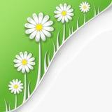 Primavera o fondo creativa abstracta del verano stock de ilustración