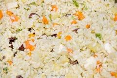 Primavera Reis. (Reis mit Gemüse, Eiern und ch Lizenzfreie Stockbilder