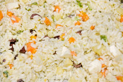 Primavera Rice. (Rice with vegetables, eggs and ch Royalty Free Stock Images