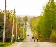 In primavera ` s cronometra per camminare intorno Fotografia Stock Libera da Diritti