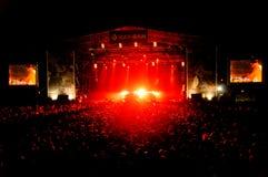 Primavera sound 2012 festival Stock Photo