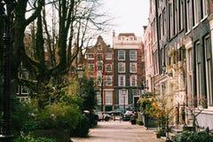 Primavera temprana hermosa en Amsterdam, Países Bajos, 2014E imágenes de archivo libres de regalías