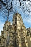 Primavera, York Minster, Regno Unito immagine stock libera da diritti