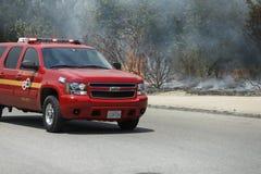 Primaveras de Forrest Fire - de Camarillo 5-2-2013 Foto de archivo