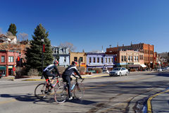 Primaveras de Manitou en Colorado Foto de archivo libre de regalías