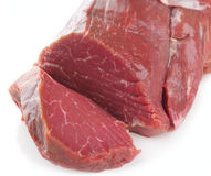 Prime fresh Fillet steak sliced Stock Photography