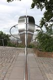 Prime meridian (Greenwich), London, UK Royalty Free Stock Image