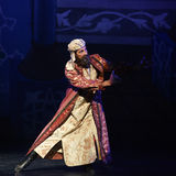 """The Prime Minister of Arabia- ballet """"One Thousand and One Nights"""" Royalty Free Stock Image"""
