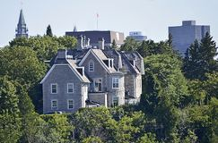 Prime Minister of Canada`s residence - 24 Sussex stock photography
