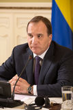 Prime Minister of the Kingdom of Sweden Stefan Lofven Stock Photo