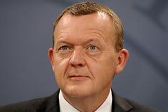 PRIME MINISTER LARS LOKKE RASMUSSEN _BEDRE BALANCE Stock Images