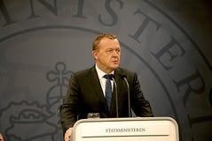 PRIME MINISTER LARS LOKKE RASMUSSEN _BEDRE BALANCE Stock Photos