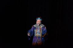 "The Prime Minister of the Qing Dynasty-Shanxi Operatic""Fu Shan to Beijing"" Royalty Free Stock Photography"
