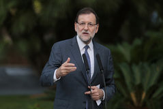Prime minister Rajoy 031 Royalty Free Stock Photography
