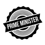 Prime Minister rubber stamp Royalty Free Stock Photo