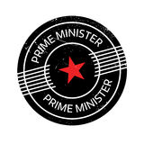 Prime Minister rubber stamp Stock Photo