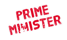 Prime Minister rubber stamp Royalty Free Stock Photos