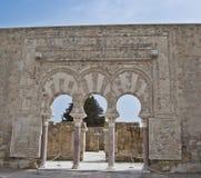 Prime Minister's door, Medina Azahara Stock Photo