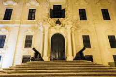 Prime Minister's Office in Valletta Stock Photo