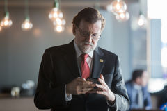 Prime Minister of Spain Mariano Rajoy Royalty Free Stock Image