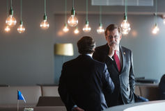 Prime Minister of Spain Mariano Rajoy Stock Photo