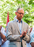 Prime-minister of Ukraine Arseniy Yatsenyuk Stock Photos