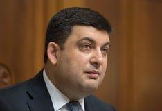 Prime Minister of Ukraine Vladimir Groisman Stock Image