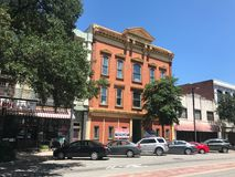 Prime Property for Rent on Main Street Columbia, South Carolina.  royalty free stock image