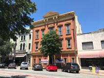Prime Property for Rent on Main Street Columbia, South Carolina.  royalty free stock photography