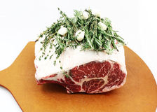 Prime Rib Royalty Free Stock Photo
