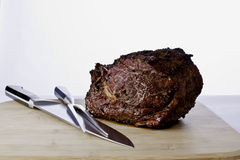 Prime Rib Roast Royalty Free Stock Images