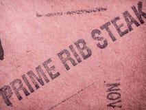Prime Rib-Steak Lizenzfreie Stockfotografie