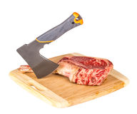 Prime rib steak cut Royalty Free Stock Photography