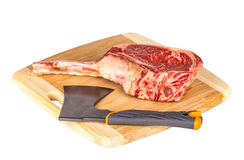 Prime rib steak cut Stock Photography