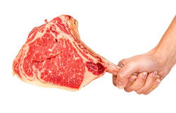 Prime Rib-Steakschnitt lizenzfreie stockfotografie