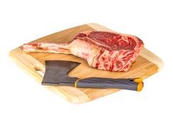 Prime Rib-Steakschnitt stockfotografie