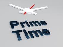 Prime Time concept Royalty Free Stock Photos