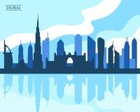 Prime viste dalla parte superiore del Burj Khalifa Immagine Stock Libera da Diritti
