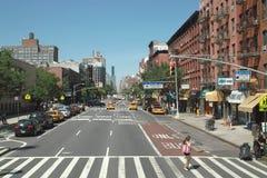Primeira avenida New York City imagens de stock
