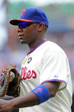 Primeira base Ryan Howard de Philadelphfia Phillies Imagem de Stock Royalty Free