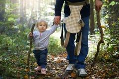 Primeira caminhada pedestre Imagem de Stock