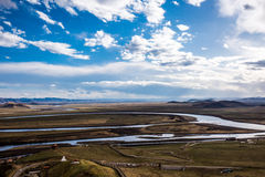 A primeira curvatura do rio amarelo Fotos de Stock Royalty Free