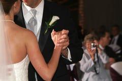 Primeira dança Fotos de Stock Royalty Free