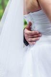 Primeira dança dos noivos foto de stock