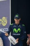 Primeira fase de raça de Tirreno Adriatica Foto de Stock Royalty Free