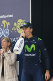 Primeira fase de raça de Tirreno Adriatica Fotos de Stock Royalty Free