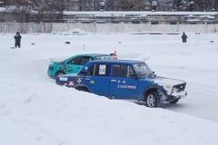 A primeira fase do copo de derivação da região de Omsk Foto de Stock Royalty Free
