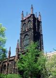 Primeira igreja presbiteriana NYC Fotos de Stock Royalty Free