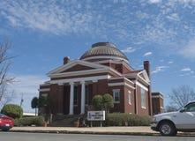Primeira igreja presbiteriana, Sallisaw, APROVAÇÃO imagem de stock