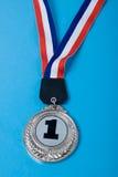 Primeira medalha do lugar Fotos de Stock Royalty Free